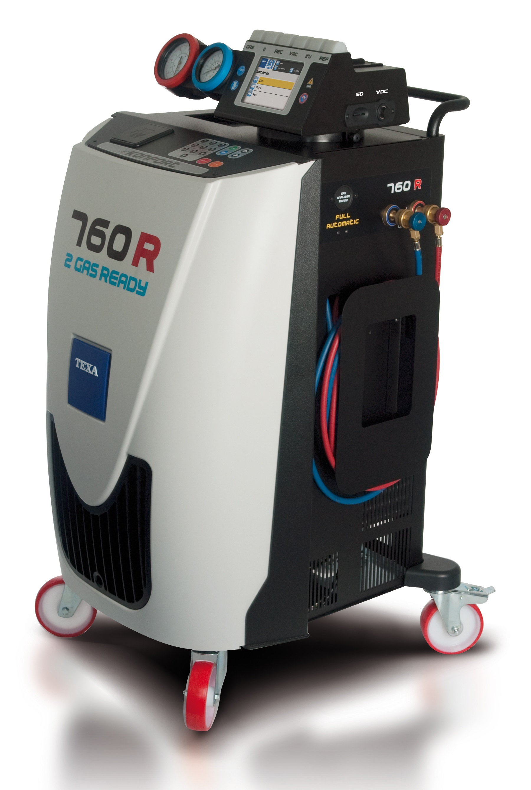 Maquina para el servico al aire acondicionado konfort 760R