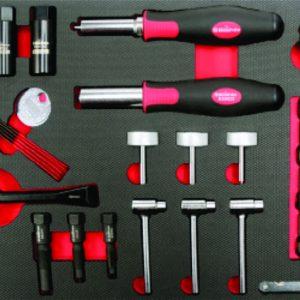 set de herramientas para sincronizacion de motocicletas