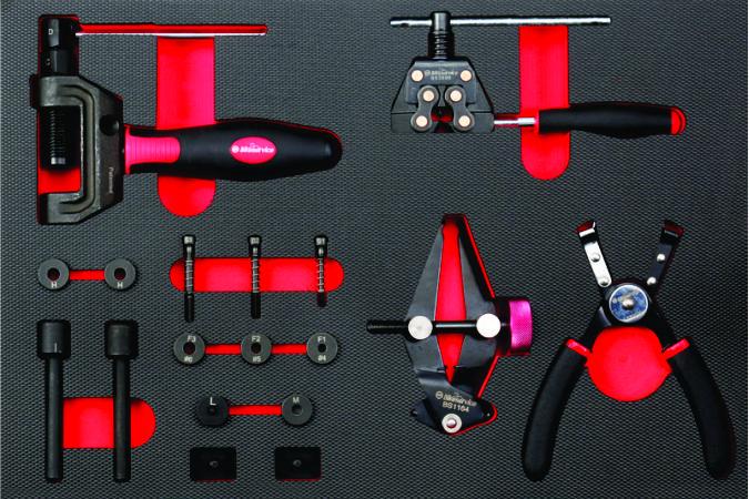 kit de herramienta especializado reparacion de cadena