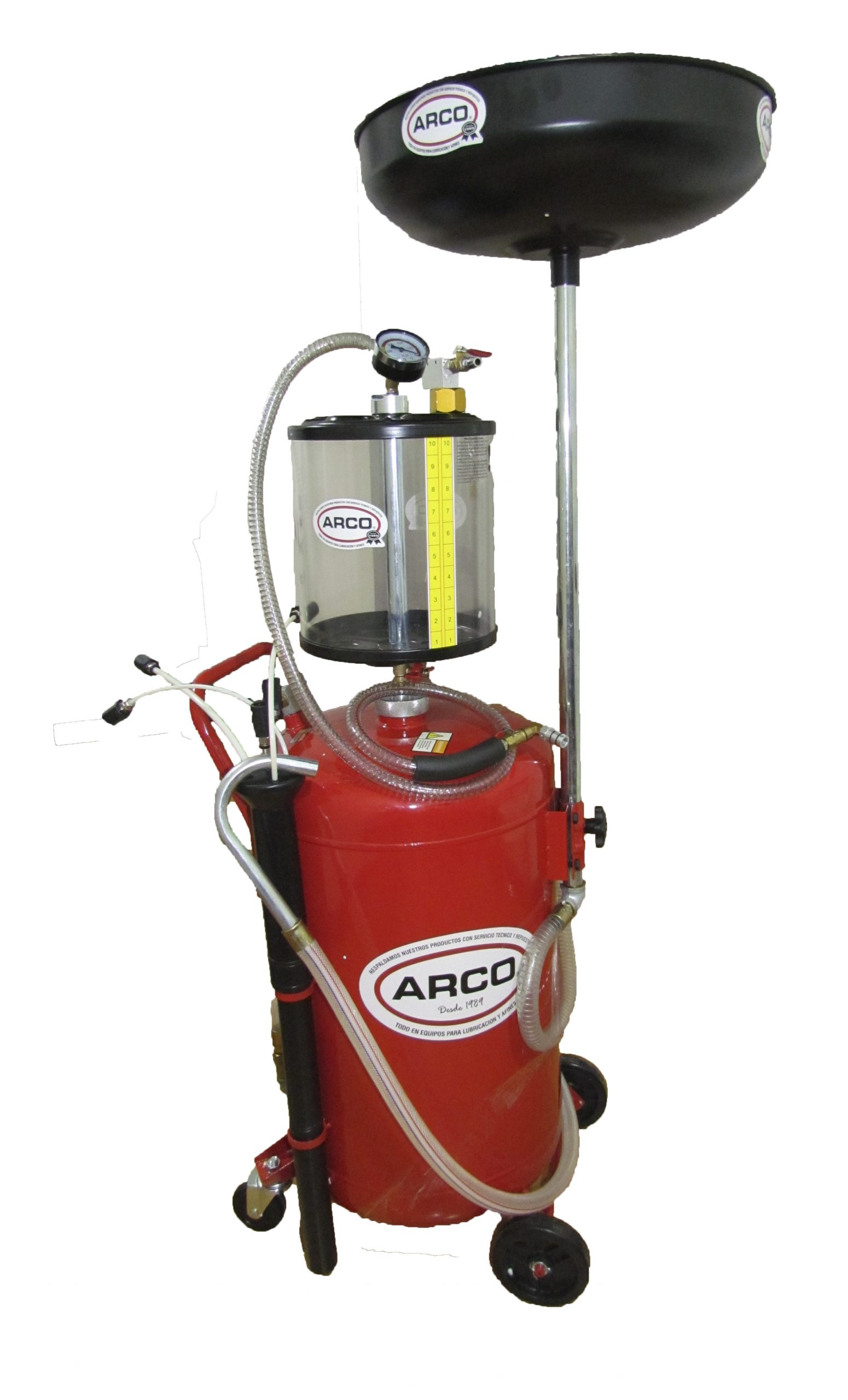 extractor y recolector de aceite neumatico