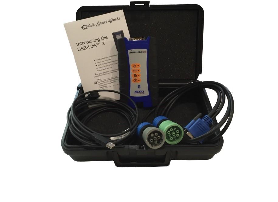 Escaner multimarca para vehiculos pesados nexiq USB LINK 2